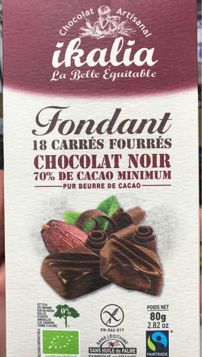 Chocolat noir 70% - Product - fr