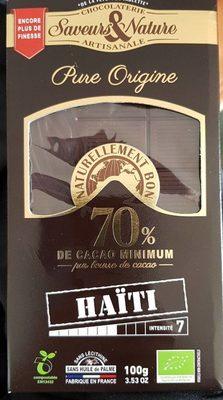 Pure Origine 70% de cacao minimum - Produit - fr
