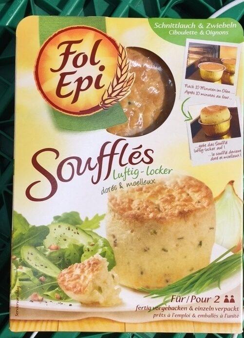 Soufflés ciboulette et oignons - Product - fr