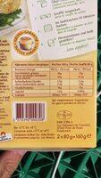 Soufflés ciboulette et oignons - Voedingswaarden - fr