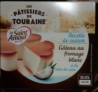 Gâteau au fromage blanc à la noix de coco - Produit - fr
