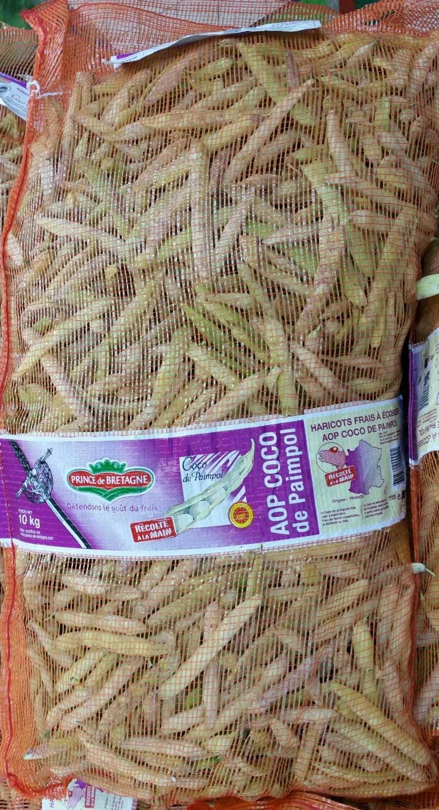 Coco de paimpol prince de bretagne 10 kg - Cuisiner les cocos de paimpol ...