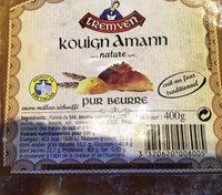 Kouign Amann nature pur beurre - Product