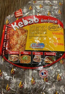 850G Emince Kebab Dinde Veau Poulet Iqf - Product - en
