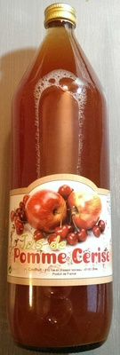 Jus de pomme cerise - Product - fr