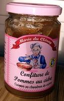 Confiture de pommes au cidre - Product - fr