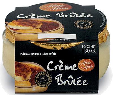 Crème brûlée nature - Produit - fr