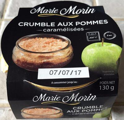 Crumble Pommes caramélisées - Product