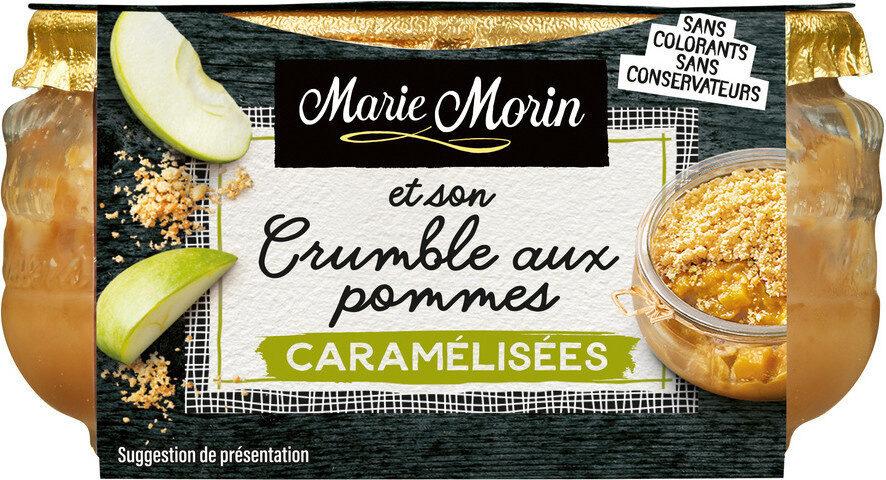 Crumble aux pommes caramélisées - Produkt - fr