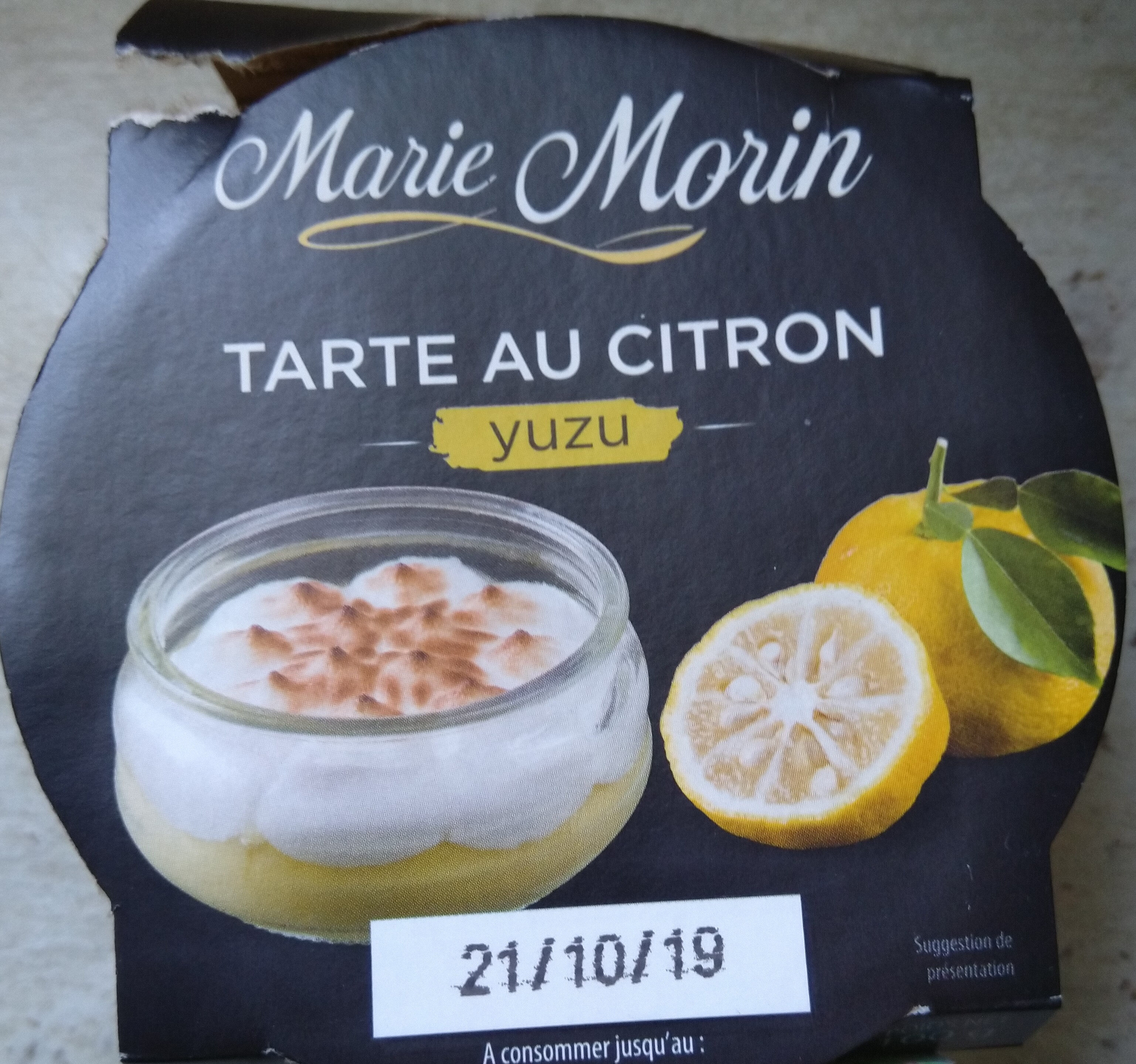 Tarte citron meringuée yuzu - Produit - fr