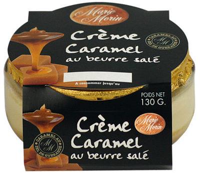 Crème caramel au beurre salé - Produit - fr
