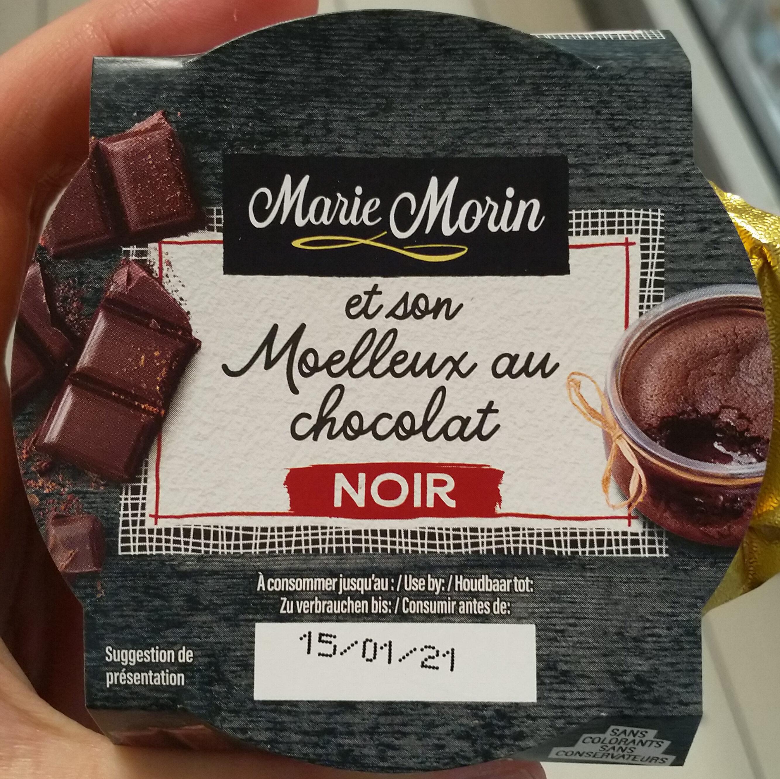 Moelleux chocolat noir - Produit - fr