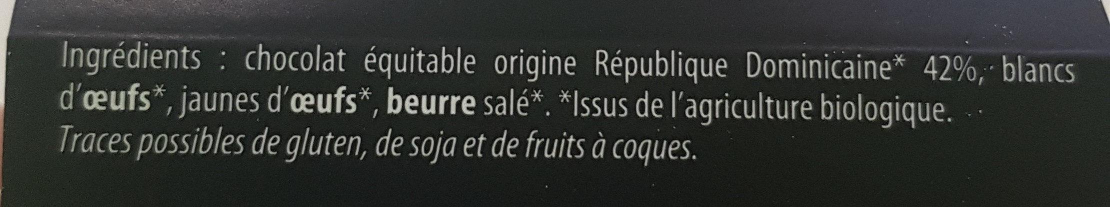 Mousse Au Chocolat Noir Bio - Product - fr