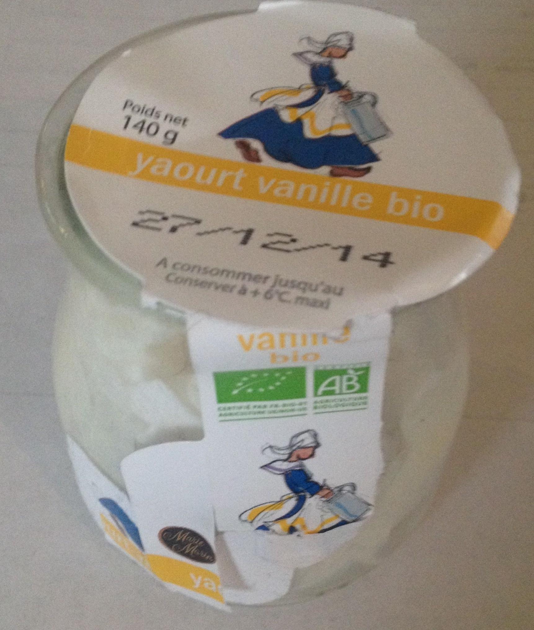 Yaourt vanille bio - Product