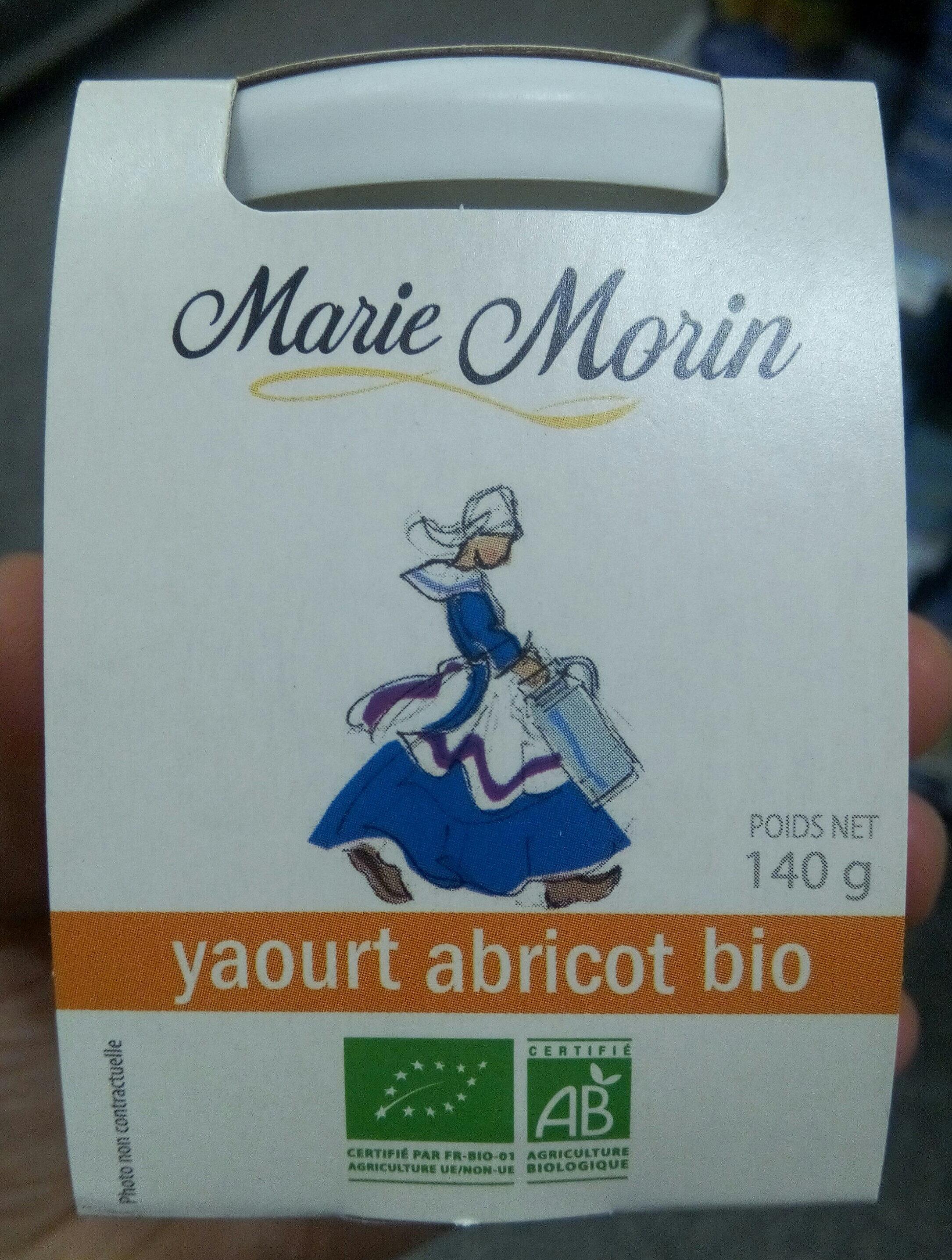 Yaourt abricot bio - Product - fr