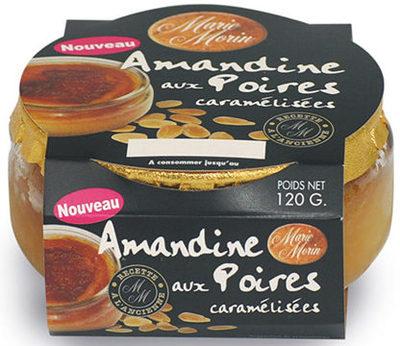 Amandine aux Poires caramélisées - Produit - fr