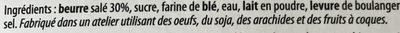 Kouign amann pur beurre - Ingrédients - fr
