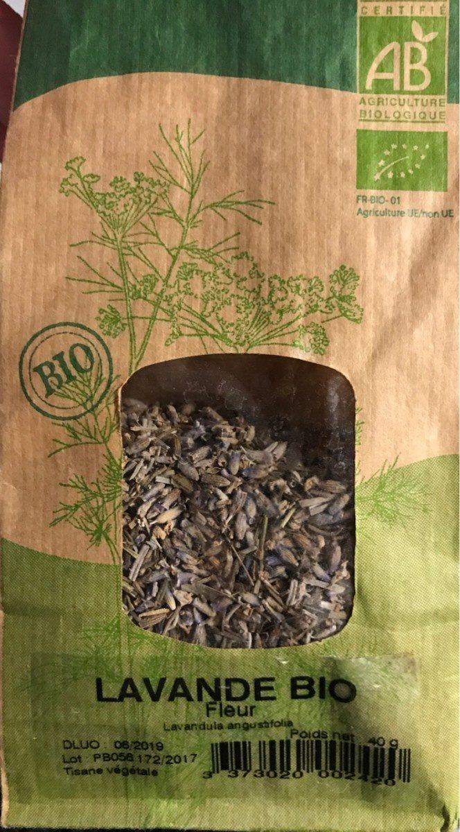 Lavande bio fleur lavandula angustifolia - Ingredients - it