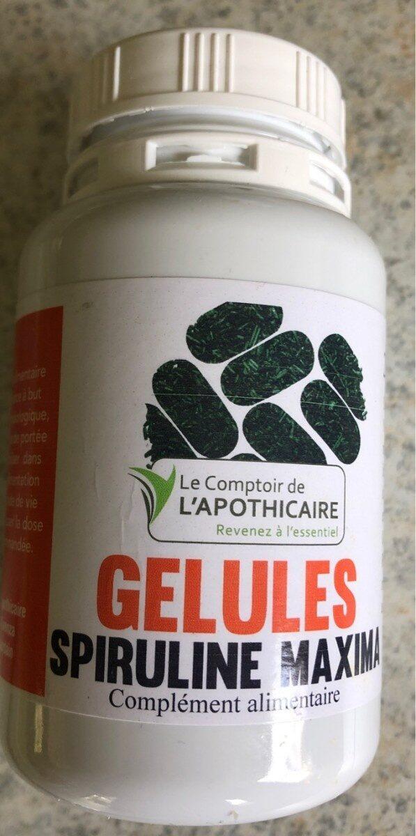 Gellules spiruline maxima - Product