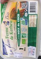 Creme glacee noix de coco - Product - fr