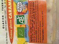 Creme glacee caramel beurre salé - Ingrediënten - fr