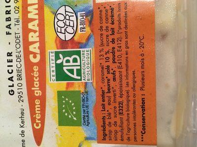 Creme glacee caramel beurre salé - Ingrediënten