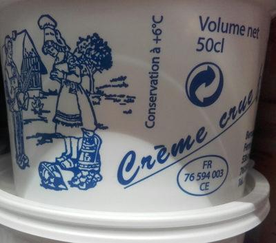 crème  crue fermière - Product - fr