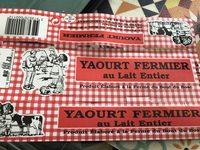 Yaourt fermier - Product - fr