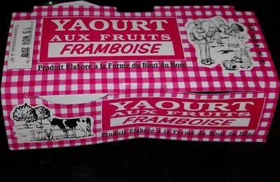 Yaourt aux fruits. Framboise - Product - fr