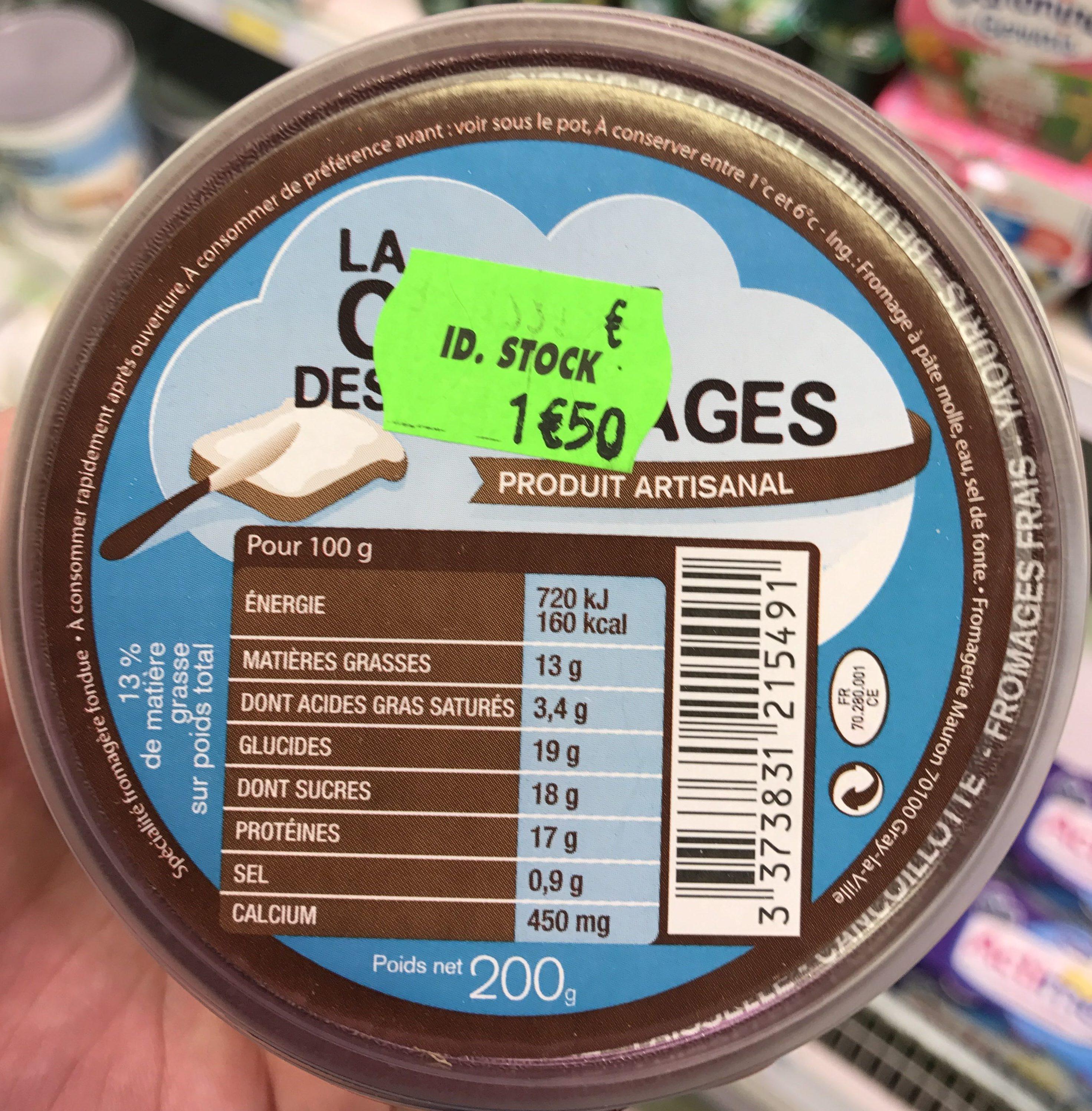 La crème des fromages - Produit - fr