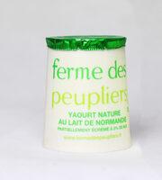 Yaourt nature au lait partiellement écrémé - Produit - fr