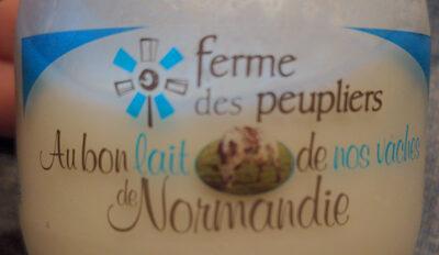 Yaourt nature - Au bon lait de nos vaches de Normandie - Produit