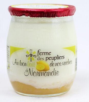 Yaourt Citron - Produit - fr