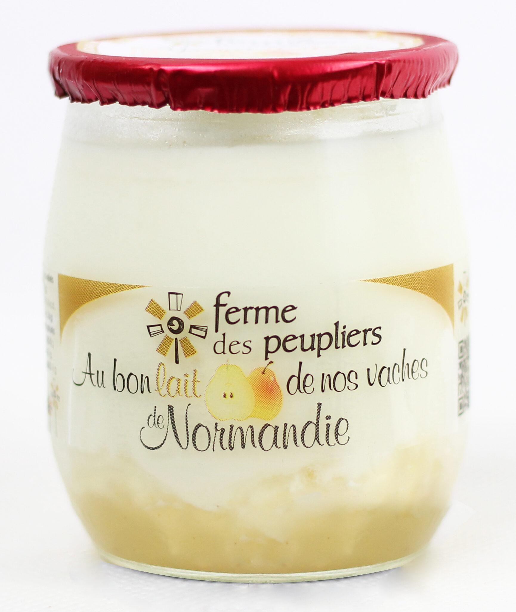 Yaourts à la poire - Produit - fr