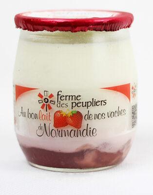 Yaourt fraise - Produit - fr