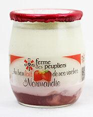 Yaourt sucré aux fraises - Produit - fr