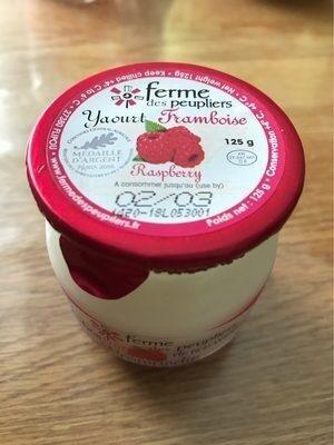 Yaourt framboise - Produit - fr