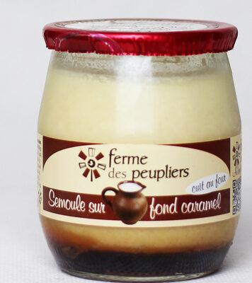 Gâteau de semoule de riz au Caramel - Product - fr