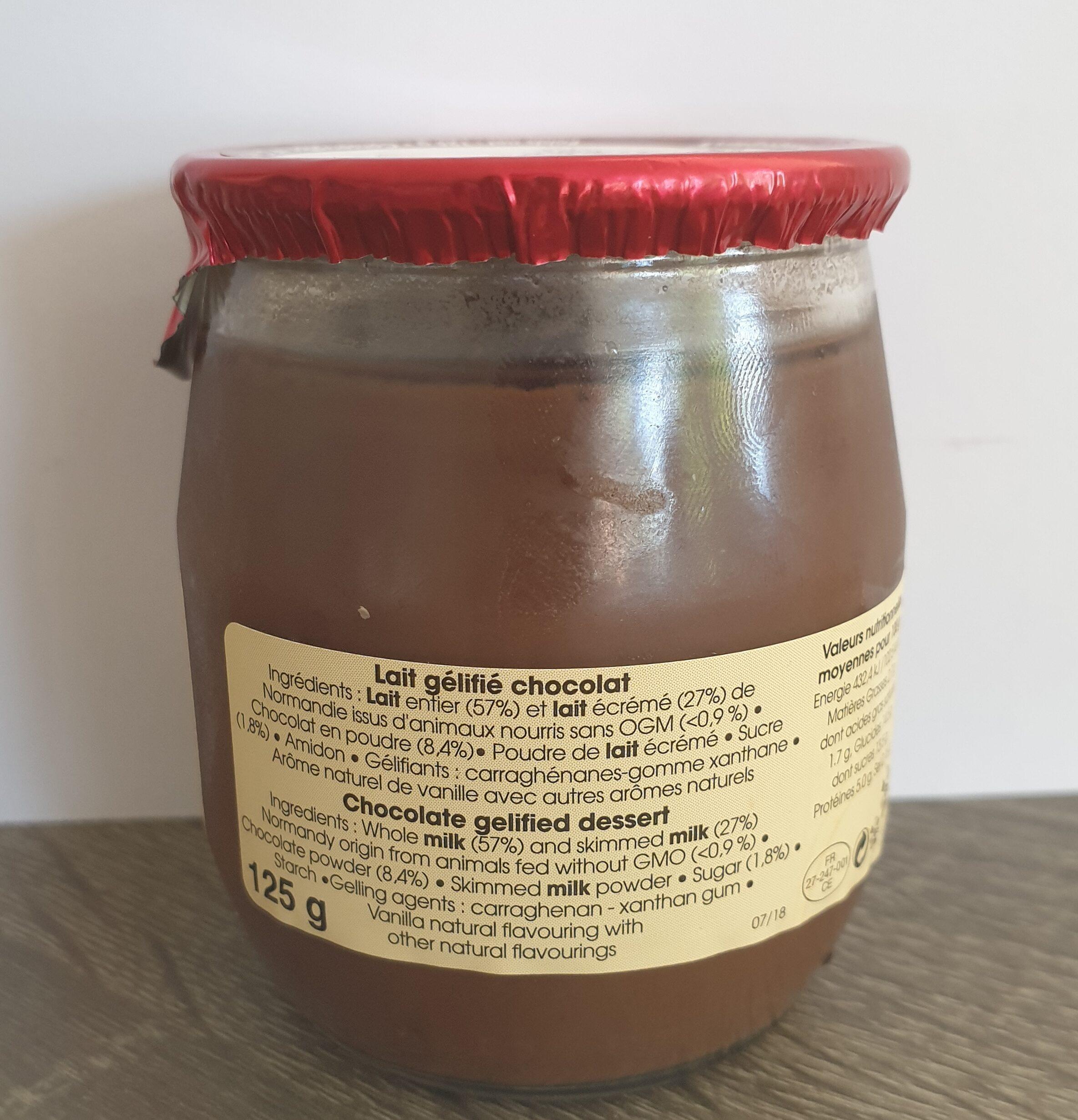Délice chocolat - Ingrédients - fr
