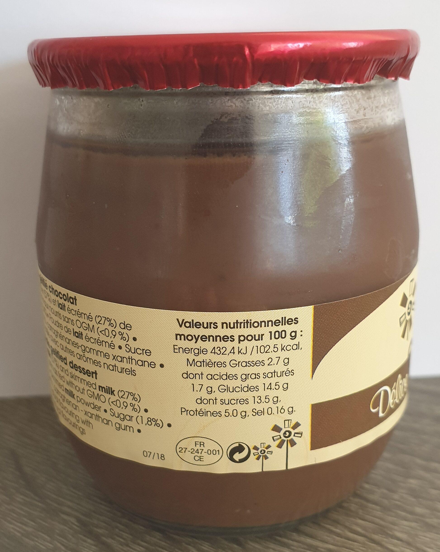 Délice Chocolat - Nutrition facts - en