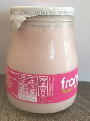 Framboise Yaourt au lait du jour - Informations nutritionnelles - fr