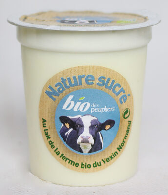 Nature bio brassé nature sucré - Produit - fr