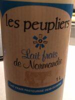 Lait frais de normandie - Product - fr