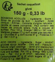 Coquelicot givré - Ingrédients - fr