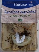Sardines Marinees Citron Et Basilic - Product - fr