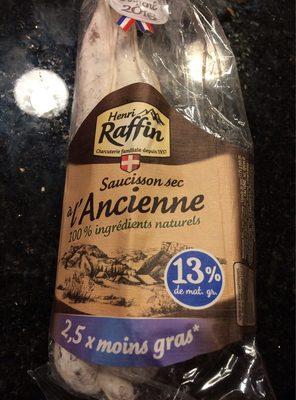Véritable saucisson sec - Product