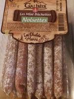 Les Mini Bûchettes Noisettes - Product - fr