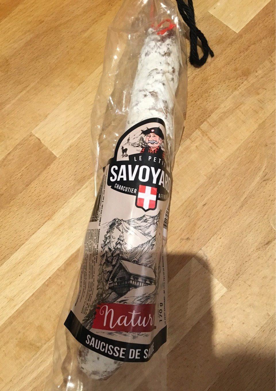 Saucisse de Savoie - Product