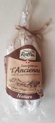 Saucisson sec à l'ancienne - Product