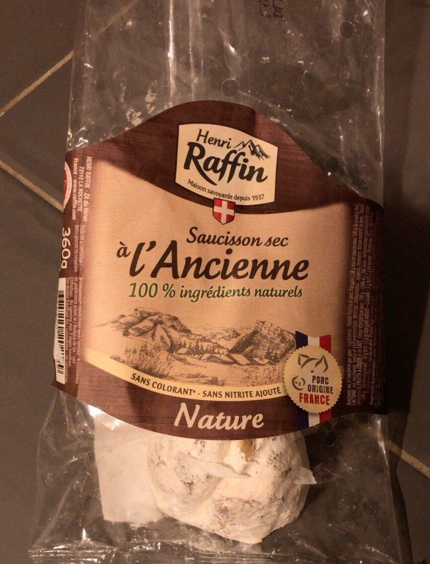 Saucisson sec à l'ancienne - Produit - fr